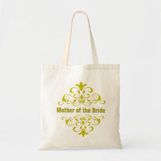 Lime Green Mother of the Bride Wedding Tote Bag