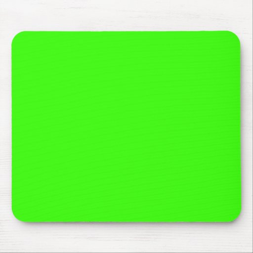 Lime Green Mouse Pads