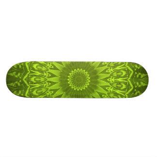 Lime Green Skateboard