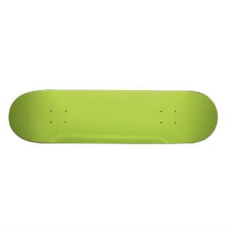 Lime Green Custom Skateboard