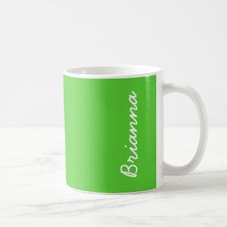 Lime Green Solid Color Coffee Mug