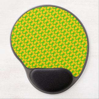 Lime Green Standard Ribbon Gel Mouse Pad