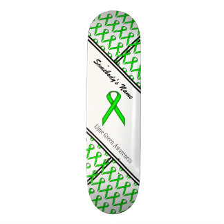 Lime Green Standard Ribbon Skate Board
