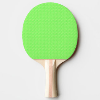 Lime Green Texture Ping Pong Paddle