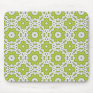 lime green tile mouse pad