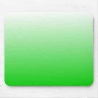 lime green to white gradient #00cc00 mouse pad