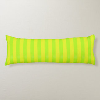 Lime Green Zen Stripes Body Cushion