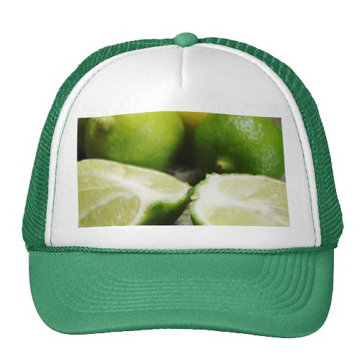 Lime Mesh Hat
