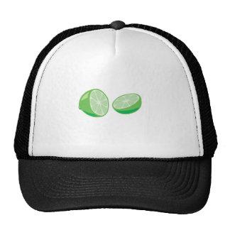 lime mesh hat