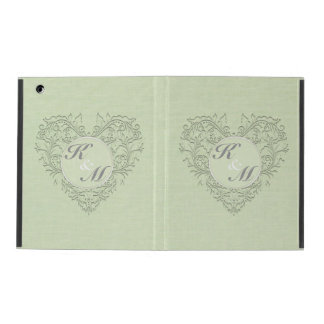 Lime HeartyChic Case For iPad