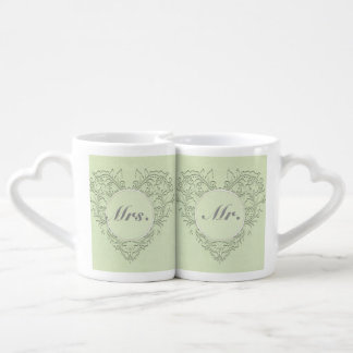 Lime HeartyChic Coffee Mug Set