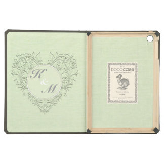 Lime HeartyChic iPad Air Cases