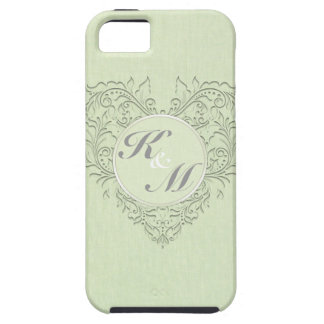 Lime HeartyChic iPhone 5 Case