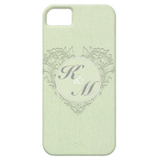 Lime HeartyChic iPhone 5 Cover