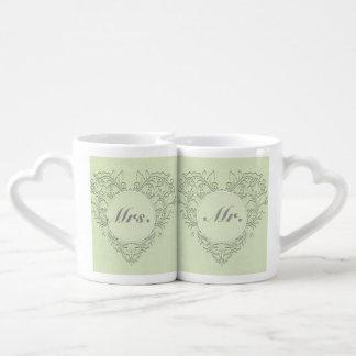 Lime HeartyChic Lovers Mug Sets