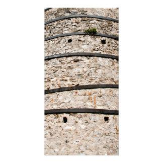 Lime kiln walls photo card