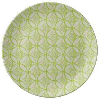Lime Large Plate Porcelain Plates