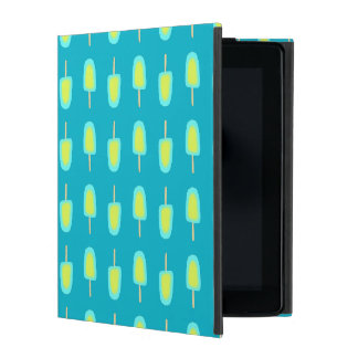 Lime Lemon Popsicles Watercolor (Customize Color) iPad Cover