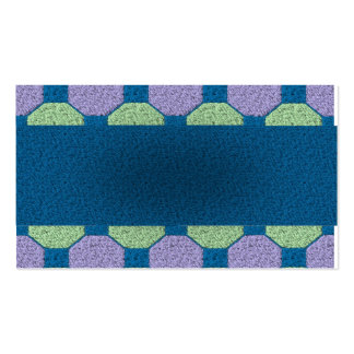 Lime & Lilac Pattern Pack Of Standard Business Cards