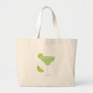 Lime Margarita Canvas Bags
