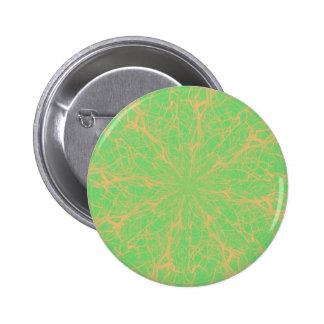 Lime Maze Pinback Button