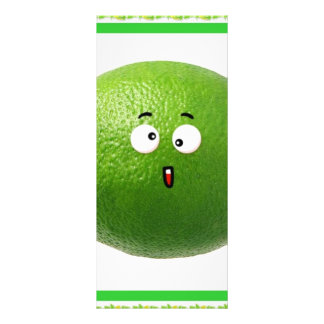 lime personalized rack card