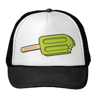 Lime Popsicle Bite Me Hat (White/Black)