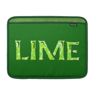 Lime Sleeve For MacBook Air