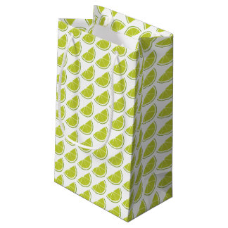 Lime Slice gift bag