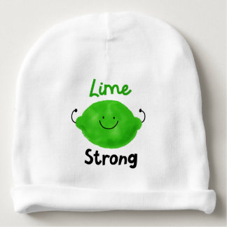 Lime Strong - Baby Beanie