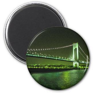 Lime Times Bridge magnet