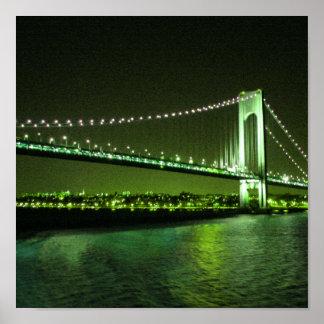 Lime Times Bridge print