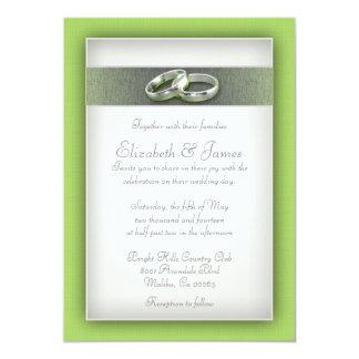 Lime Wedding Invitations Invite