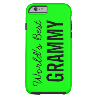 Lime World's Best Grammy Custom iPhone 6 Tough iPhone 6 Case