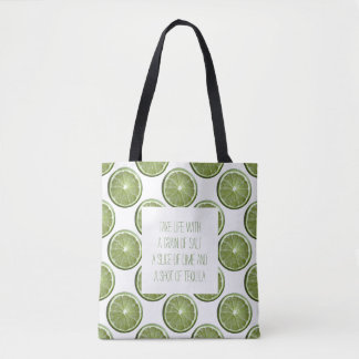 Limes Tote Bag