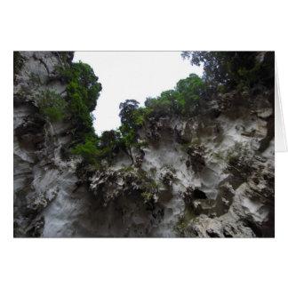 Limestone Caves Card