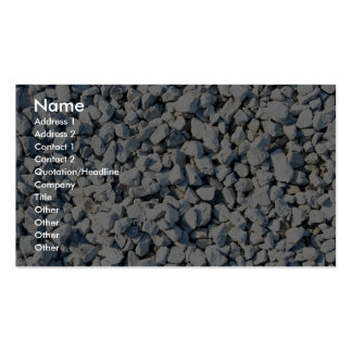 Limestone chippings pack of standard business cards