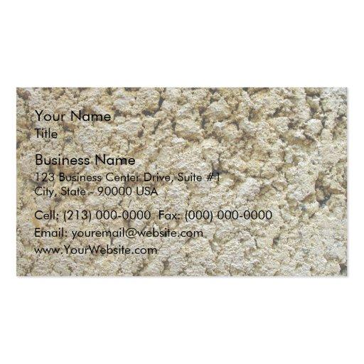 Limestone concrete texture business card template