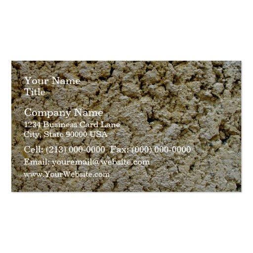 Limestone concrete texture business card templates