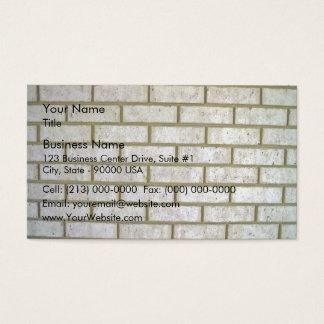 Limestone Look Brick Wall