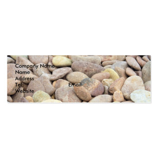 limestone pebble business card
