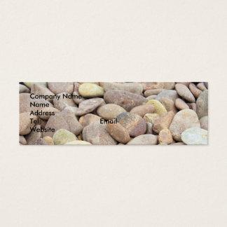 limestone pebble business card