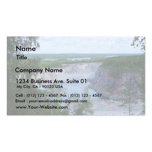 Limestone Quarry Business Card