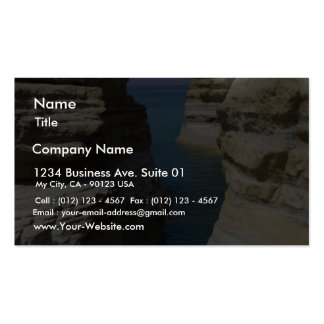 Limestone Rocks Rocks On Corfu Island Pack Of Standard Business Cards