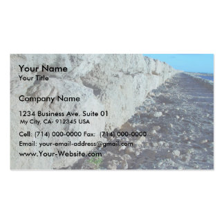 Limestone Sea-Wall At Hillaries Marina Pack Of Standard Business Cards