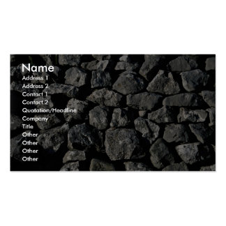 Limestone wall, Yorkshire Dales, England Pack Of Standard Business Cards