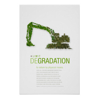 Limit Degradation: Sustainability Principle Poster