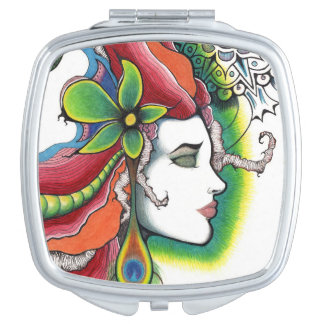 Limit portrait modern art mirrors for makeup