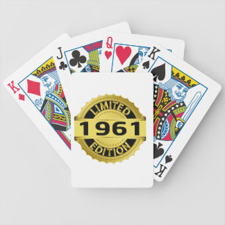 Limited 1961 Edition Bicycle Playing Cards