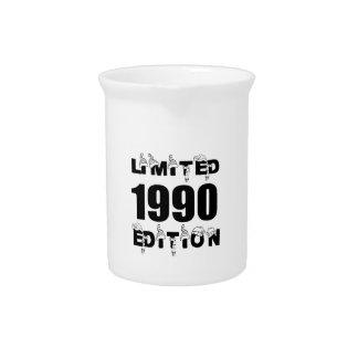 LIMITED 1990 EDITION BIRTHDAY DESIGNS PITCHER